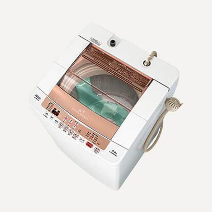 AQUA(アクア)AQW-VW800E 8kg 簡易乾燥機能付洗濯機の買取