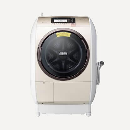 HITACHI(日立)ヒートリサイクル 風アイロン ビッグドラムBD-V9800L 11kg ドラム式洗濯乾燥機の買取