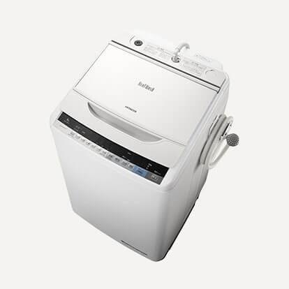 HITACHI(日立)ビートウォッシュBW-V80A 8kg 簡易乾燥機能付洗濯機の買取