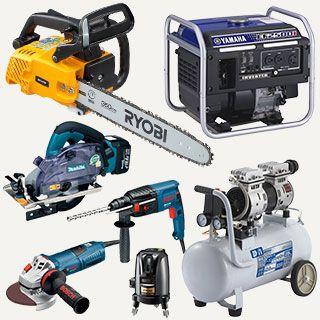 インパクトドライバーや発電機など電動工具の買取なら広島リサイクルショップくん
