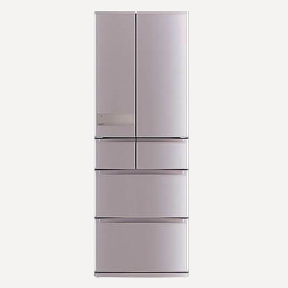 MITSUBISHI(三菱電機)置けるスマート大容量 WXシリーズ MR-WX52A フレンチドア 6ドア(観音開き) 517L 冷蔵庫買取